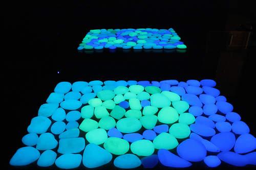 Как выглядит светящийся камень